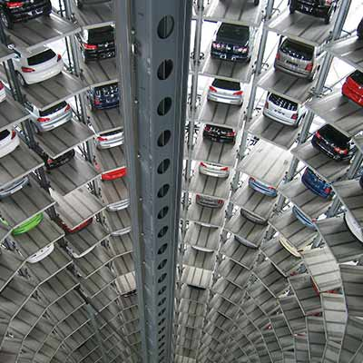 Uniwersum: Bezosobowa obsługa parkingu